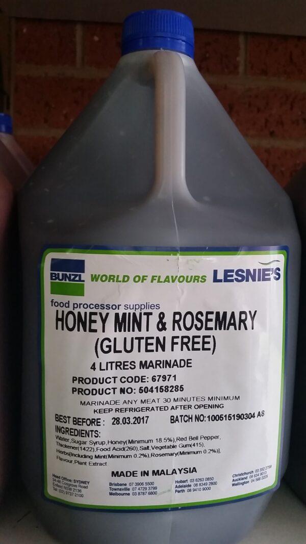 honey mint rosemary
