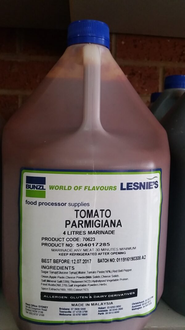 tomato parmigiana